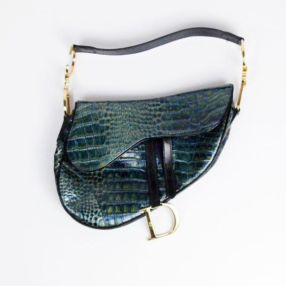 4693f4e09b76 Dior Handbags - Christian Dior Saddle Bag